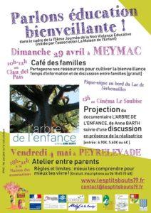 Parlons éducation bienveillante @ Meymac