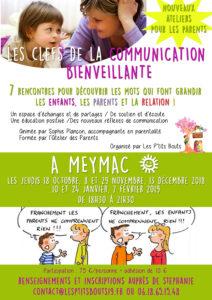 Atelier : les clefs de la communication bienveillante @ Meymac