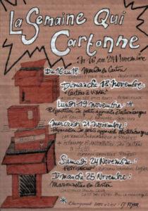 La semaine qui cartonne @ aux Plateaux Limousins au Villard (Royère-de-Vassivière)