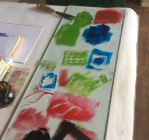 atelier en famille : gravure