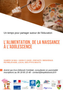 Rencontre entre parents : l'alimentation
